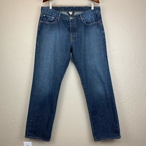 Lucky Brand 221 Slim Straight Button Fly Jeans 36